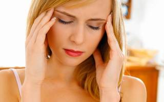 При аллергии болит голова
