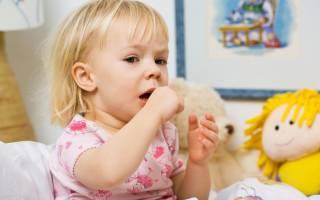 Сухой кашель при аллергии у ребенка