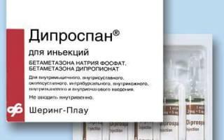 Дипроспан гормональный препарат
