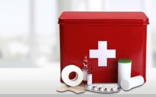 Антишоковая аптечка