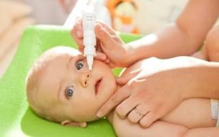 Капли в нос при рините у детей