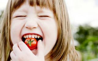 Аллергия на помидоры у детей