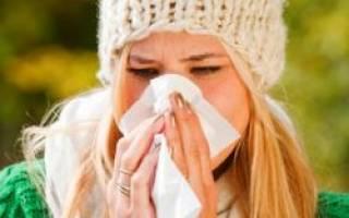 Аллергия в октябре