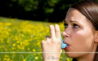 Аллергия астматического характера